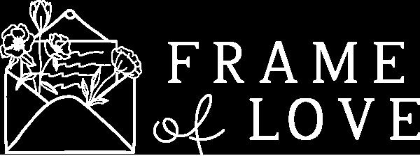 Frame of Love – Fotografia di Matrimonio Logo
